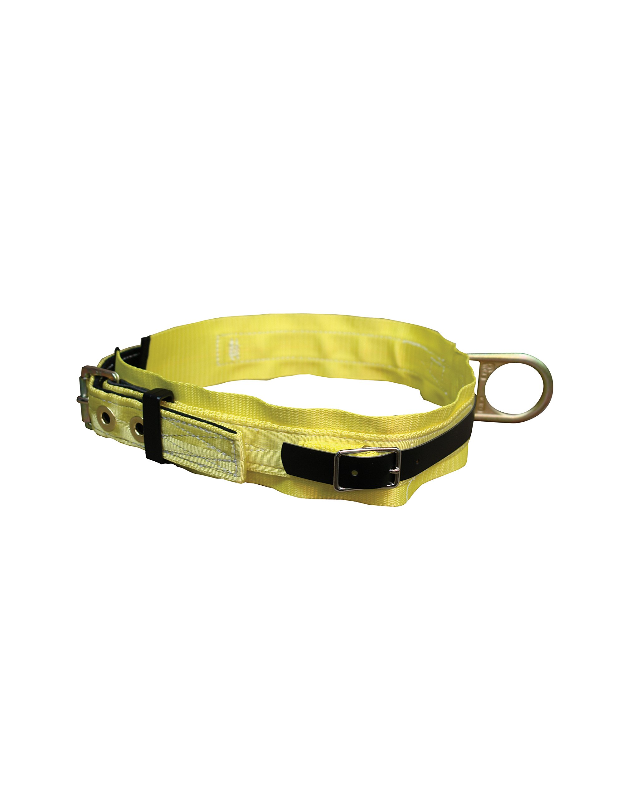 Elk River 03193 Nylon and Polyester Web Reinforced Miner's Body Work Belt with and 3'' Backpad, Large