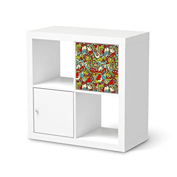 Creatisto Bedruckte Klebe Folie Für IKEA Kallax Regal 1 Türelement | Möbel  Renovieren Design