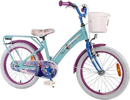 Disney Frozen 18 pulgadas – Bicicleta infantil con freno de ...
