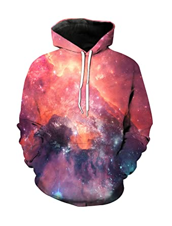 2ec72bad6ff4 Amazon.com  Beautiful Starry Sky Universe Galaxy 3D Printed Unisex ...