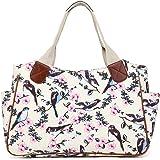 Miss Lulu Ladies Handbag Fashion Pattern Shoulder Tote Bags for Women Girls