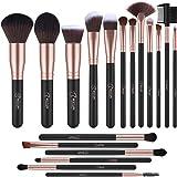 Set de brochas de maquillaje profesional BESTOPE (Rose Golden)