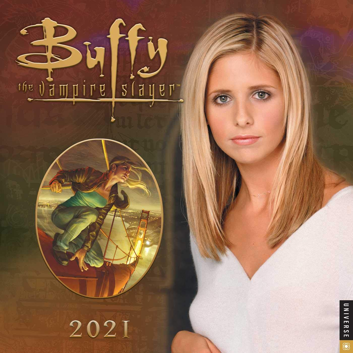 Buffy the Vampire Slayer 2021 Wall Calendar: 20th Century Studios