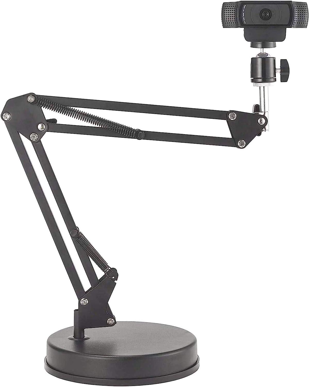 Oxendure Webcam Mount 22 Scissor Arm Stand With Computers Accessories