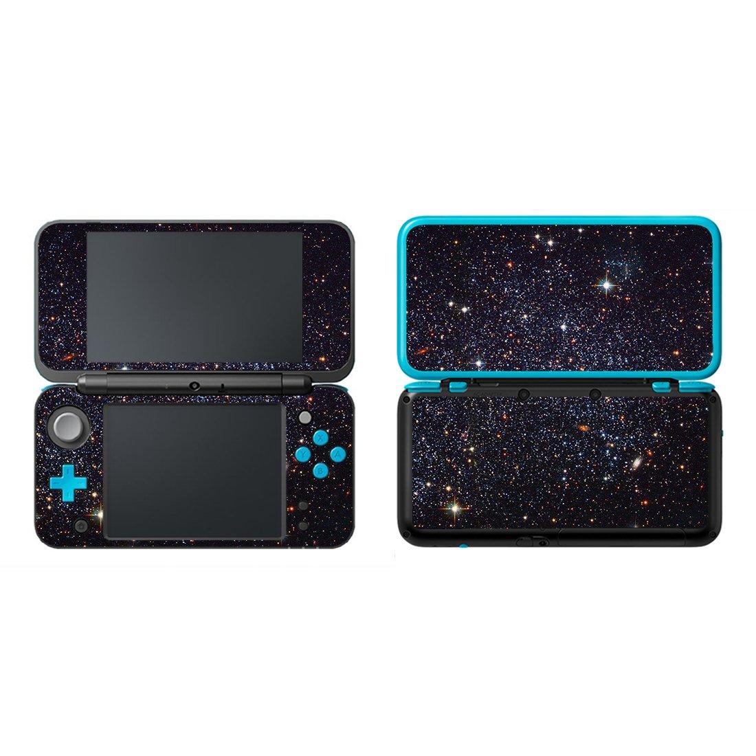eSeeking Vinyl Cover Decals Skin Sticker for New Nintendo 2DS XL / LL - Clusters Stars