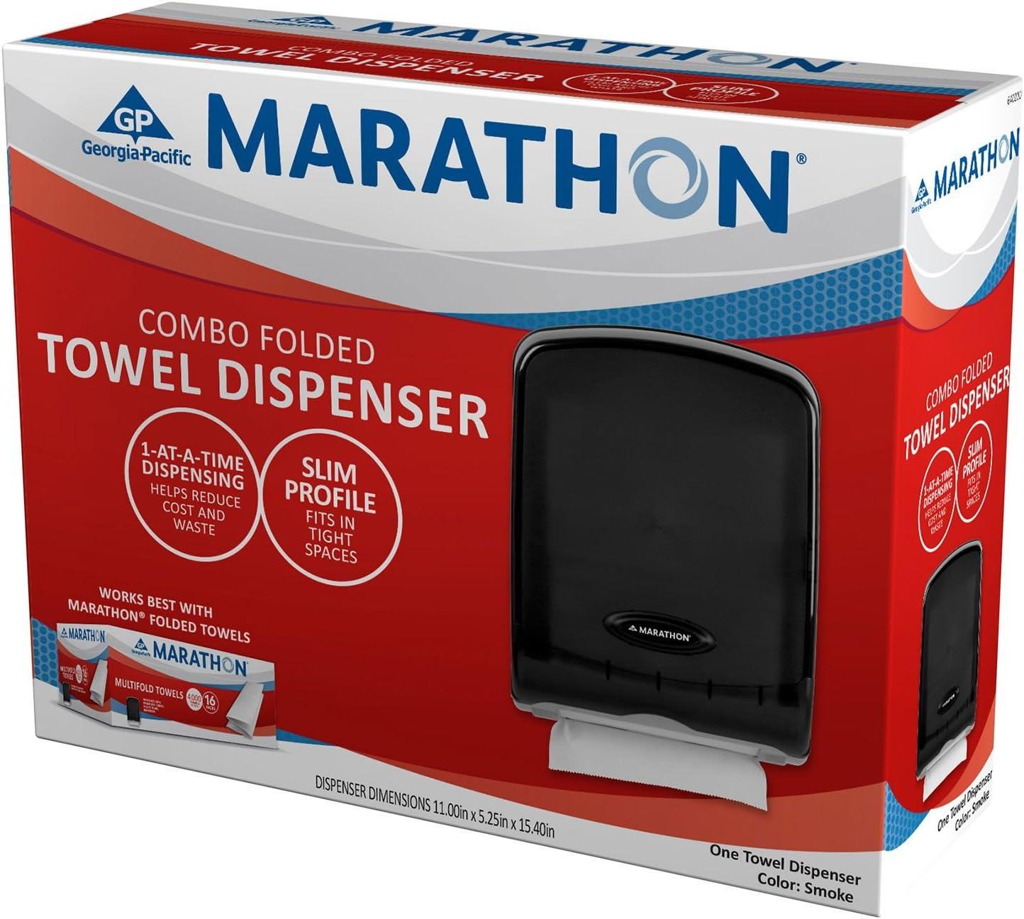 Marathon Combo Folded Towel Dispenser 313 Towel Capacity