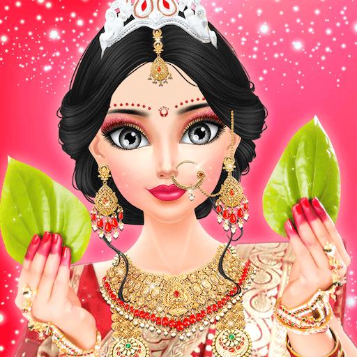 Amazon Com East Indian Wedding Fashion Salon For Bride Wedding Salon And Dressup Doll Free Game For Girls Wedding Mania Stylist Salon Game