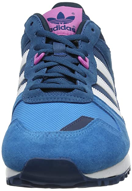 buy online 003c8 0ba52 adidas Originals Womens ZX 700 W-6 Trainers D65876 Tribe BlueRunning White  FTWJoy Orchid 5.5 UK, 38.5 EU Amazon.co.uk Shoes  Bags