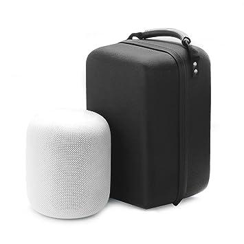 Tragetasche Schutzhülle neopren schwarz für Bluetooth Speaker Apple Homepod
