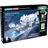 Laser Pegs Sabertooth Attack Light-Up Building Block Playset (240 Piece) The First Lighted Construction Toy to Ignite Your Child's Creativity; It's Your Imagination, Light It Up