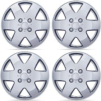 Juego de 4 tapacubos para ruedas de 15 pulgadas no originales