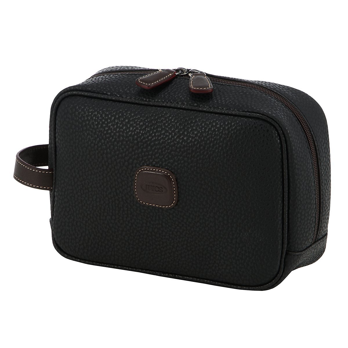 Bric's Magellano Traditional Shave Case (One Size, Black) by Bric's