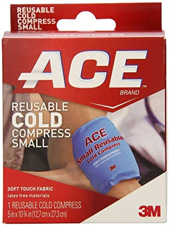 Amazon.com: ACE reutilizable frío Compres Tamaño 1 ct Ace ...