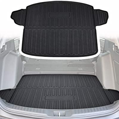 Yoursme Cargo Liner Rear Cargo Tray Trunk Floor Mat Waterproof Protector for Honda CRV 2020 2020: Automotive