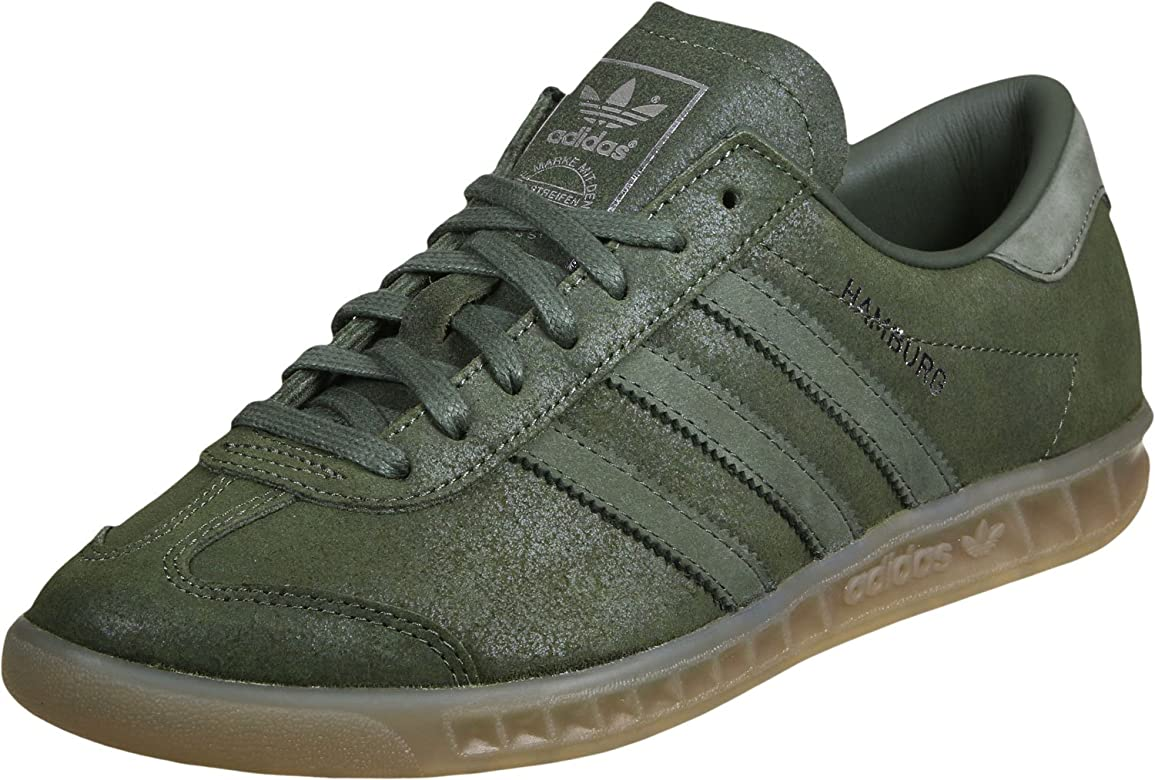 adidas Hamburgo Hombre, Color Gris, Talla 36: Amazon.es