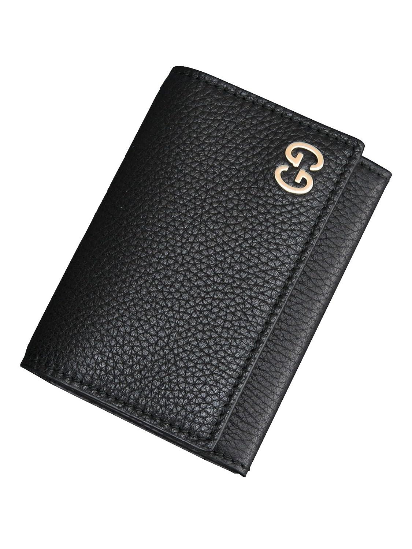 (グッチ) Gucci ビジネス カードケース ブラック [並行輸入品] B079Q59KRF ブラック