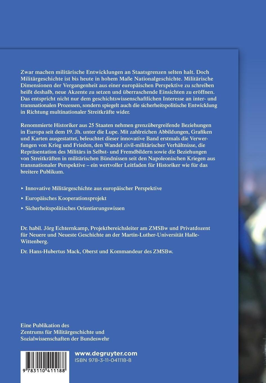Geschichte ohne Grenzen?: Europäische Dimensionen der Militärgeschichte vom  19. Jahrhundert bis heute: Amazon.de: Jörg Echternkamp, Hans-Hubertus Mack:  ...