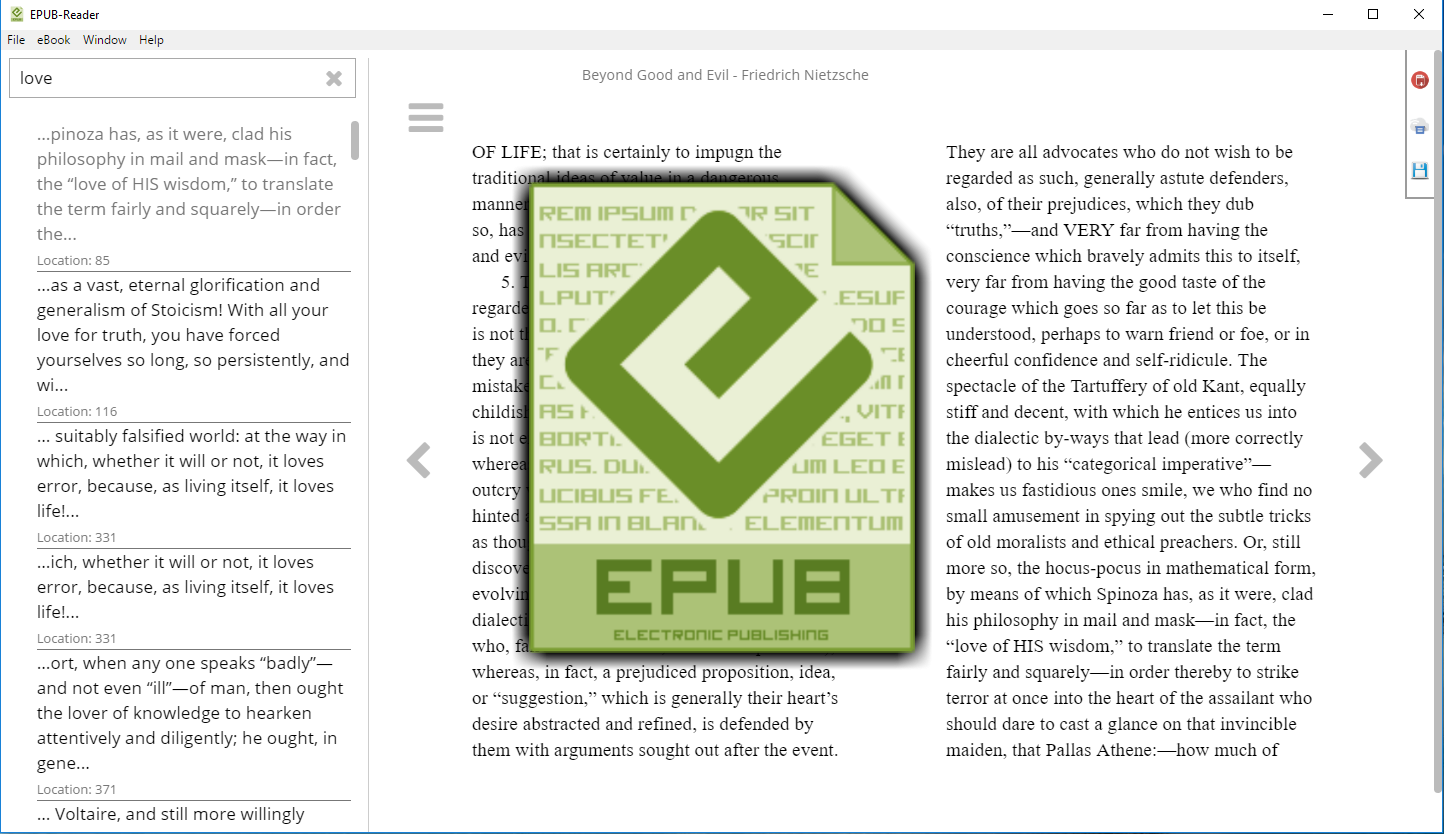 ePub reader [Download]