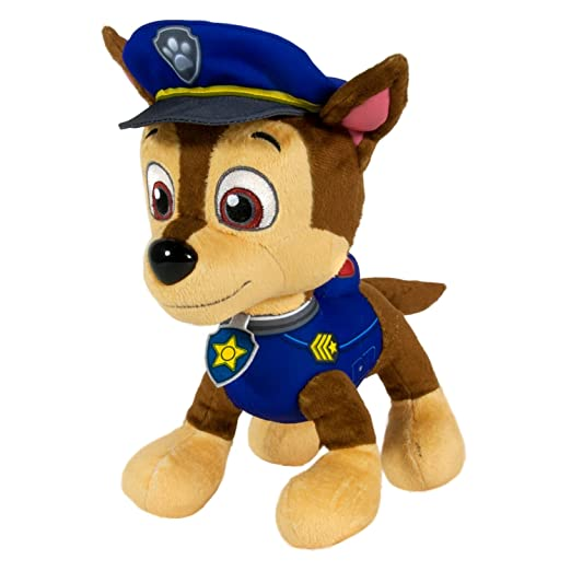 Amazon.com: Nickelodeon Paw Patrol - Chase Soft Toy 20068052 - Figure - Spin Master - Bx-a4-6-t48: Toys & Games