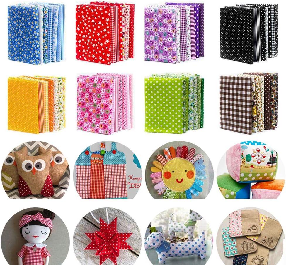 """150Pcs 4"""" x 4"""" (10cm x 10cm) Cotton Craft Fabric Bundle Squares,Squares Sheets Patchwork,Pre-Cut Quilt Squares,DIY Sewing Quarters Bundle,Quilting Fabric Bundles"""