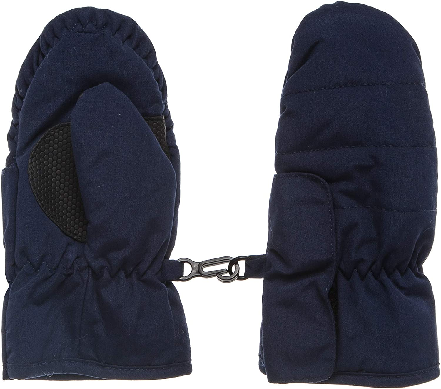 Hanes Easy Open Quilted Microfiber Ski Mittens X Temp Lined