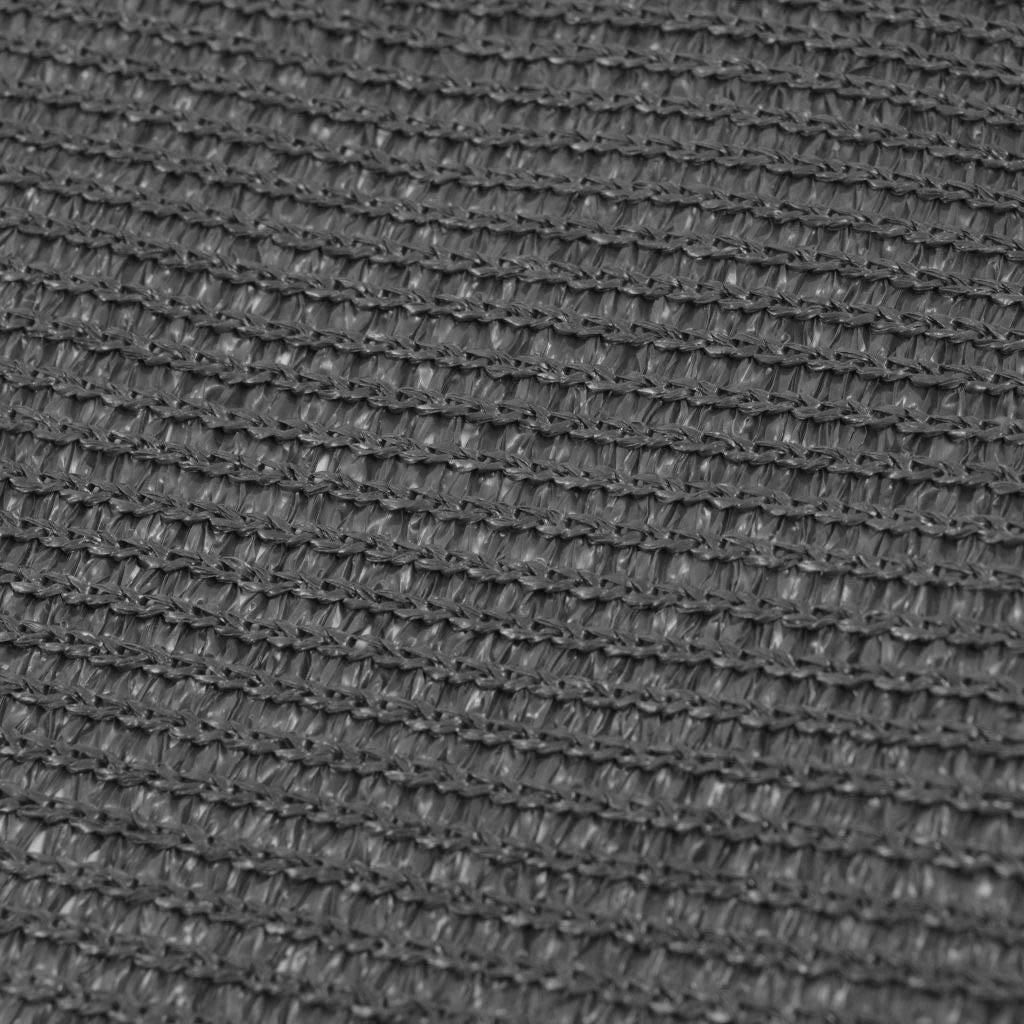 para Suelo y Tiendas de Campa/ña 250x500 cm Gris Antracita Festnight Alfombra de Tienda Estera Transpirable y Tesistente al Agua para Exterior