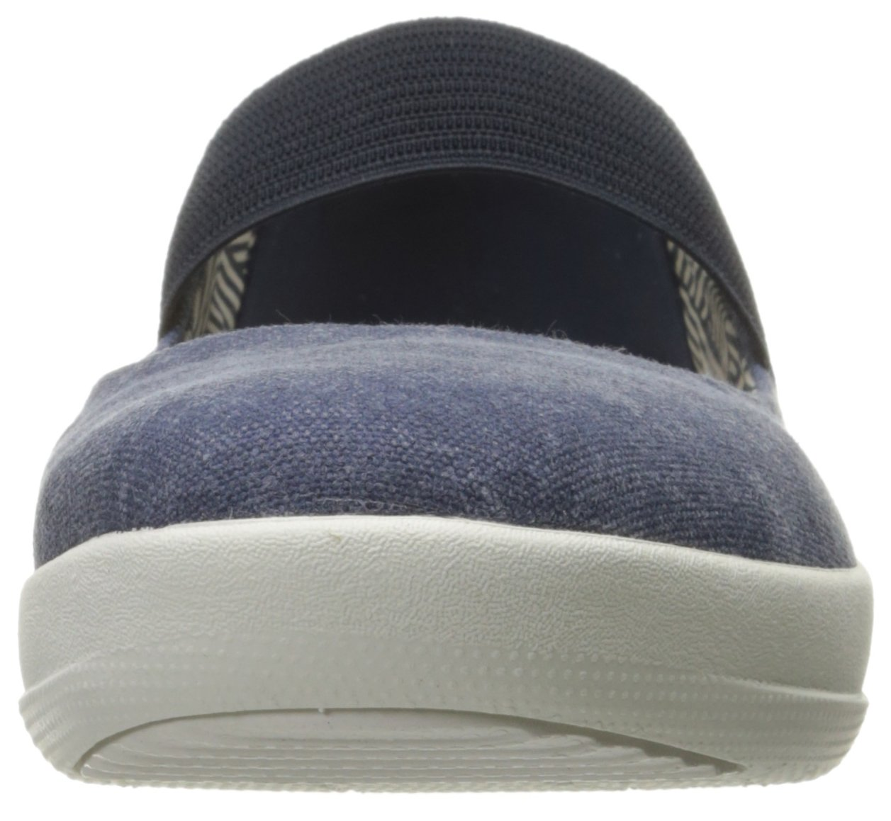 FitFlop Women's F-Sporty Mary Jane Flat, Midnight Navy, 6.5 M US by FitFlop (Image #4)