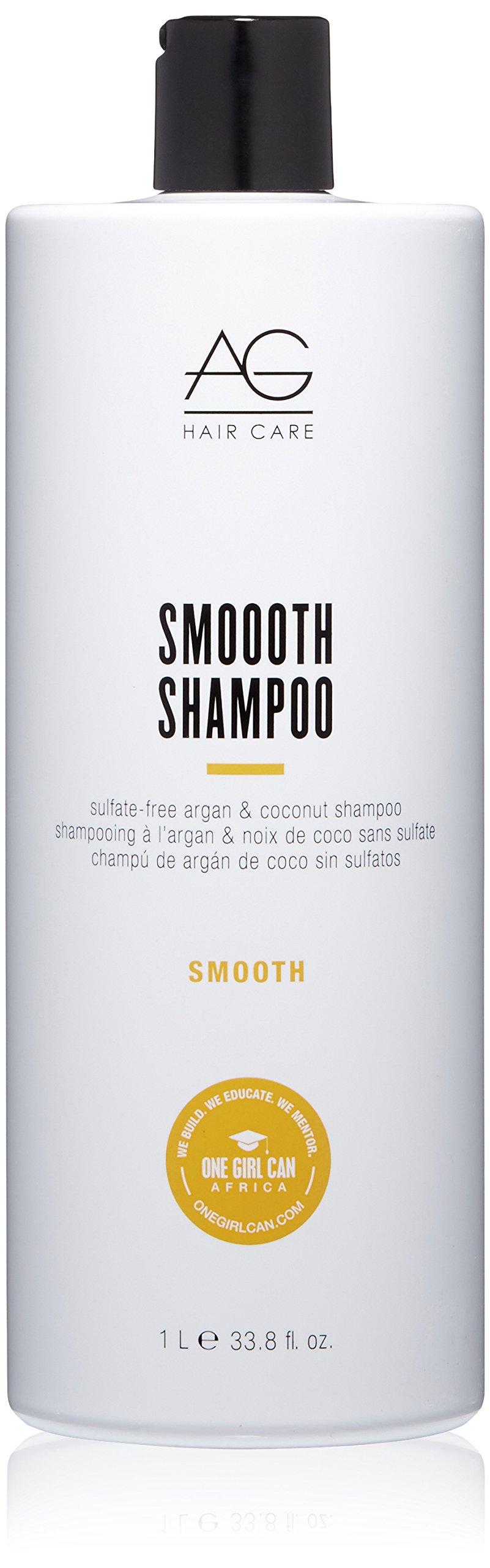 AG Hair Smoooth Sulfate-Free Argan & Coconut Shampoo by AG