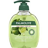 Palmolive Antibacterial Liquid Hand Wash Soap, Lime, Odour-Neutralising, 0% Parabens Recyclable Pump Bottle, 250ML