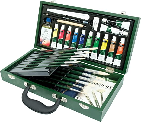 Royal & Langnickel Oil Painting Wooden Box Set Caja de Madera de ...