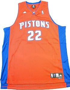 adidas Tayshaun Prince Jersey Red Swingman #22 Detroit Pistons Jersey