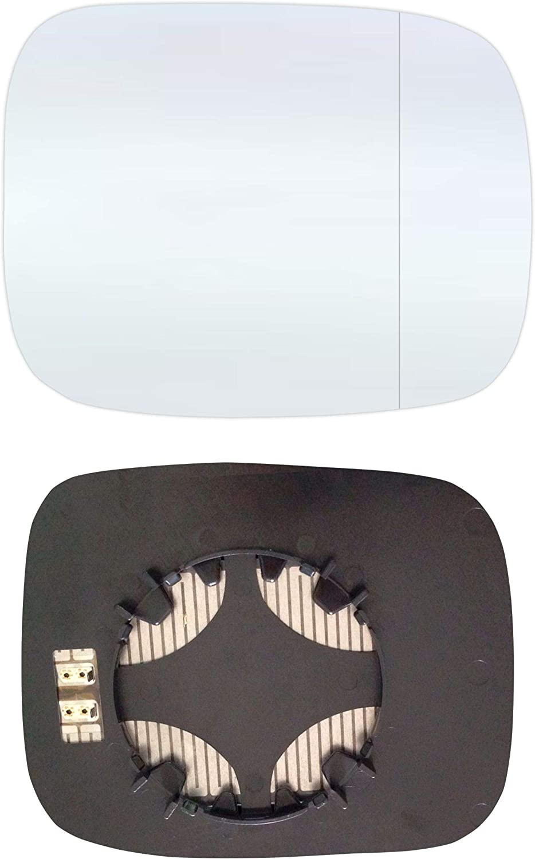 Rechts Beifahrerseite Asph/ärish Spiegelglas mit Platte und Heizung #AM-VOXC9007-RWAH