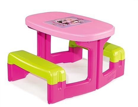 Banco Di Lavoro Giocattolo Smoby : Smoby tavolo da picnic da giardino minnie amazon giochi e