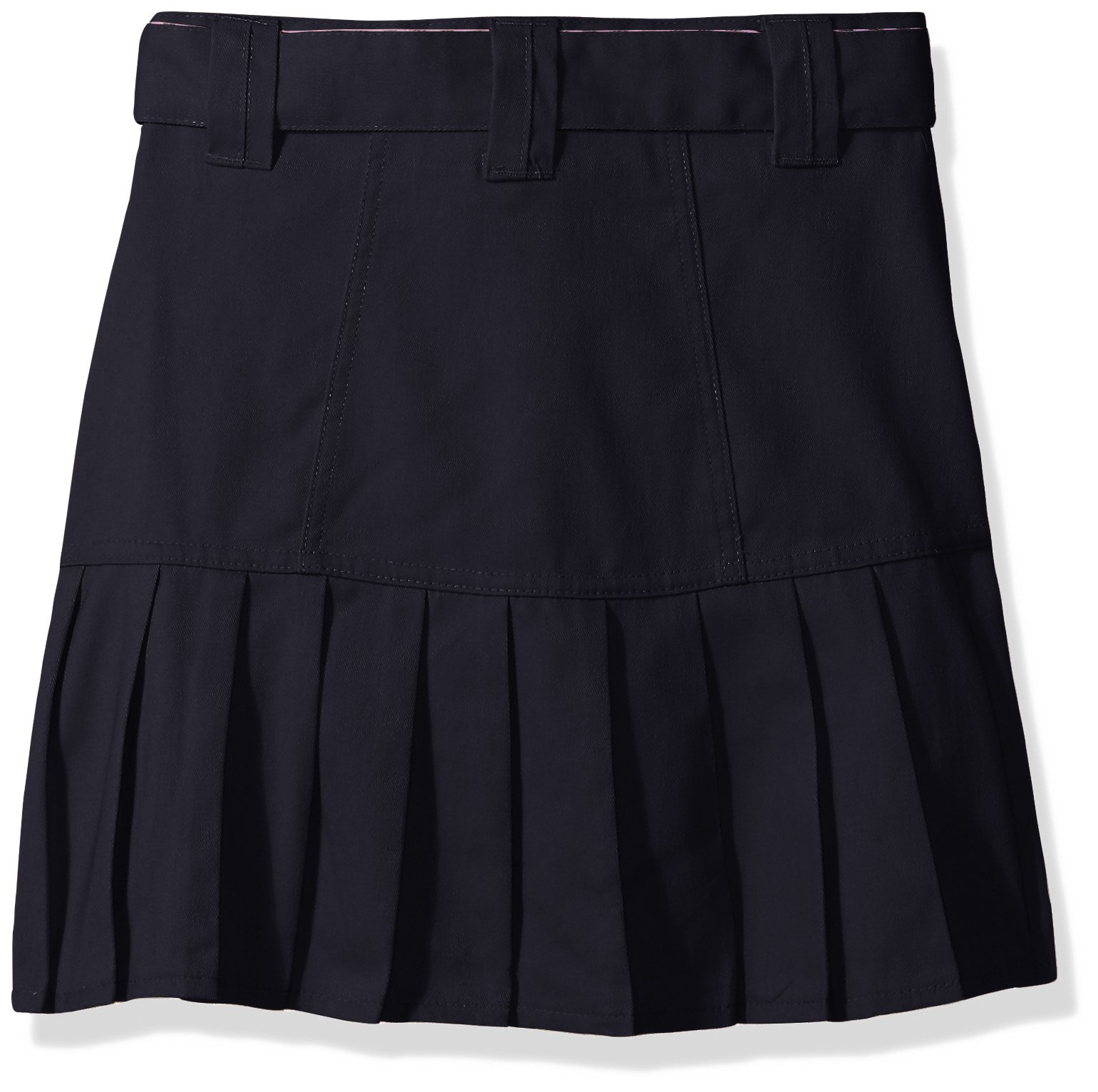 U.S. Polo Assn. Big Girls' Scooter (More Styles Available), Twill Navy-REDF, 8 by U.S. Polo Assn. (Image #2)