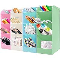4Pcs lapiceros para escritorio,Organizador de escritorio,compartimentos Soporte para bolígrafo,Soporte para bolígrafo de…
