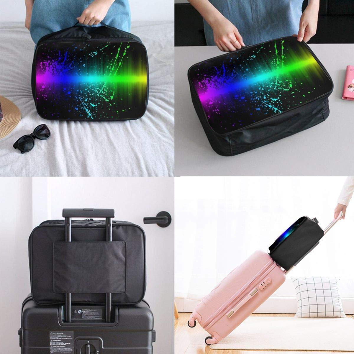 Lightweight Large Capacity Portable Duffel Bag for Men /& Women Rainbow Gradient Travel Duffel Bag Backpack JTRVW Luggage Bags for Travel