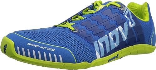 INOV8 Bare-XF 210 Zapatilla de Fitness Unisex, Azul/Verde, 48: Amazon.es: Zapatos y complementos