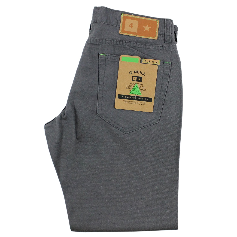 FOURSTAR Skateboard Pants O/'NEILL SIGNATURE JEAN GRAY