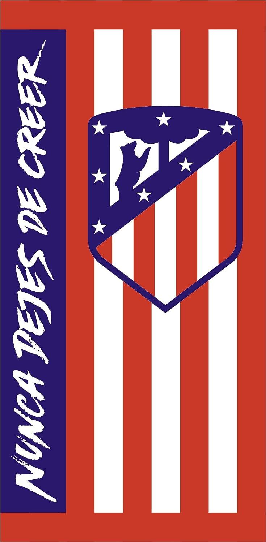 Atlético de Madrid. Toalla de Terciopelo Oficial del Club ...
