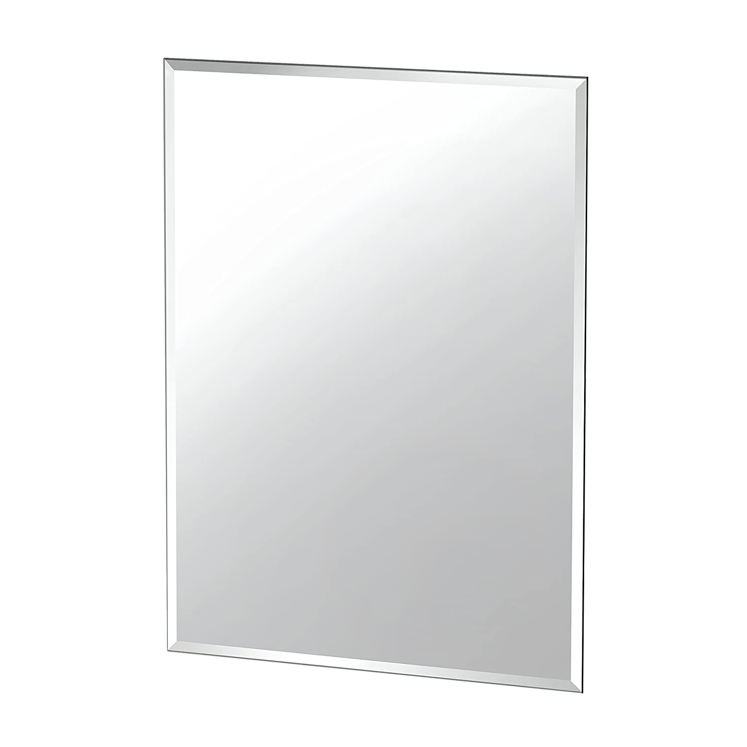 Gatco 1802 Flush Mount Frameless Rectangle Mirror 31.5-inch