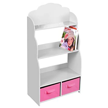Liberty House Toys Bookshelf With Bins 60 X 295 905 Cm