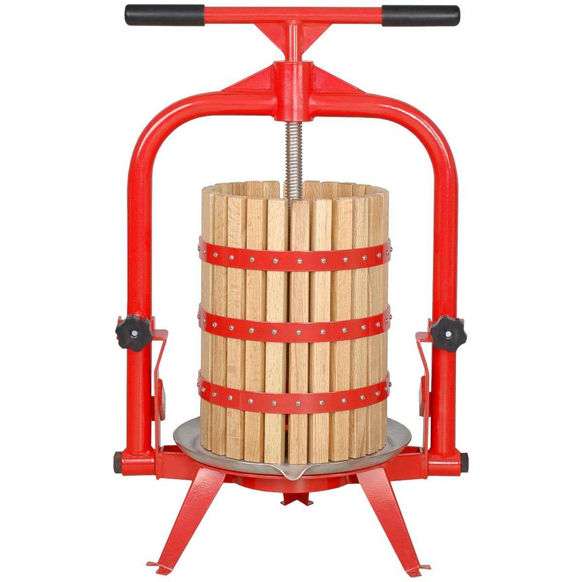 MacIntosh Fruit Press 5 Gallon + Wood Basket