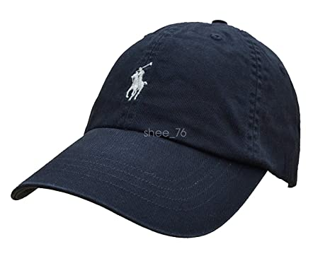 Generic Classic Polo Small Embroidery Pony Baseball Cap Mens Womens  Adjustable Hat (Black) a0b7b72f81f