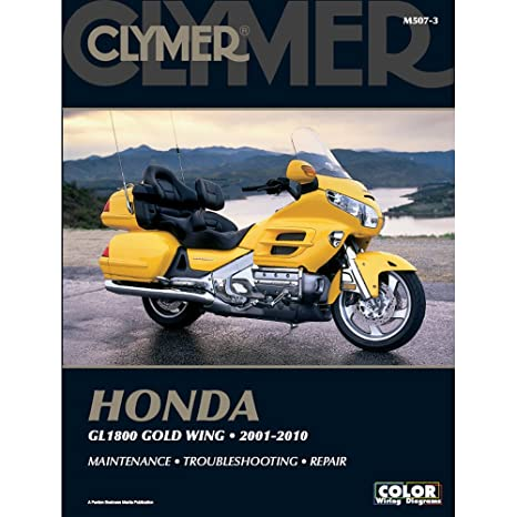 amazon com clymer honda gl1800 gold wing (2001 2010) (53206amazon com clymer honda gl1800 gold wing (2001 2010) (53206) automotive