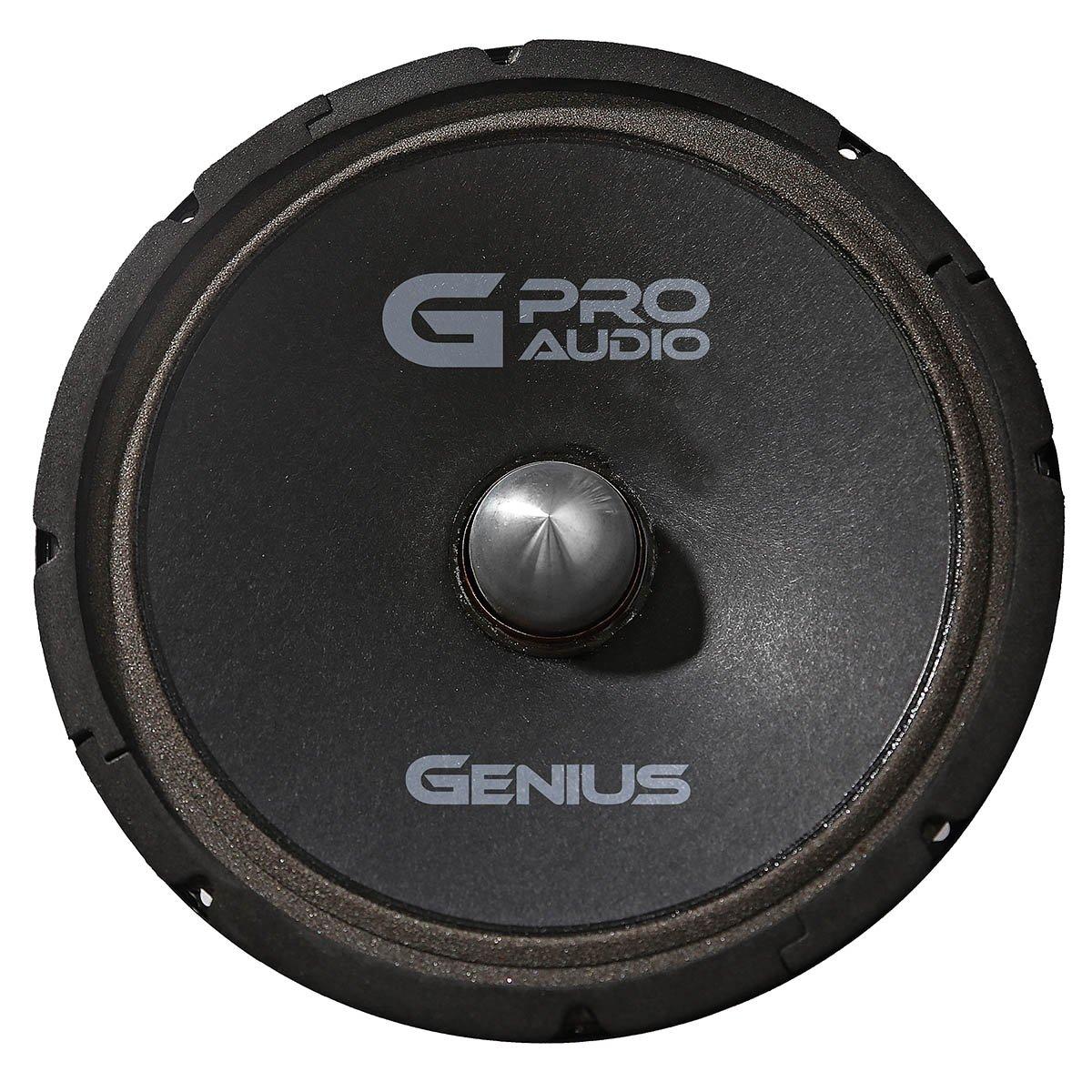 Genius GPRO-M048 8'' 300 Watts-Max Midrange Car Audio Speaker 4-Ohms''Surround Foam''