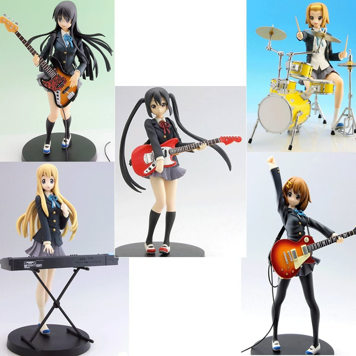 SQ Figure TV Animation 5th Anniversary Yui Hirasawa PVC BANPRESTO Japan K-ON