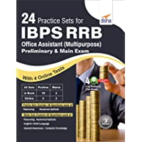 24 Practice Sets for IBPS RRB Office Assistant (Multipurpose) Preliminary & Mains Exam with 4 Online Tests