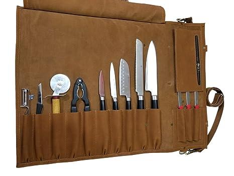 Amazon.com: Professione KB55 - Bolso de piel para cuchillos ...