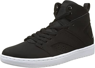 best quality skate shoes genuine shoes Jordan Flight Legend, Chaussures de Fitness Homme, Noir (Black ...