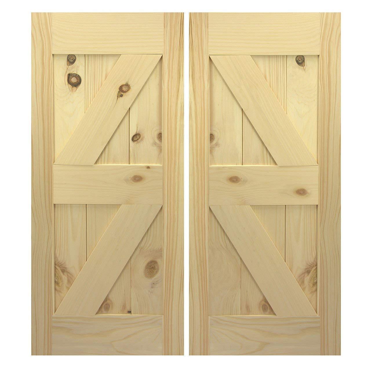 Amazon Com Interior Barn Doors Closet Barn Doors Swinging Cafe Doors Handmade